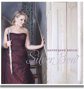 a picture of the sleeve design for Katherine's Silver Bow album